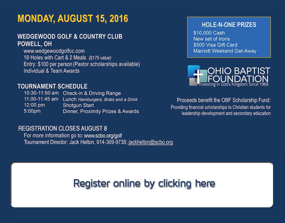 You Re Invited 1st Annual Obf Golf Scramble Scbo Org