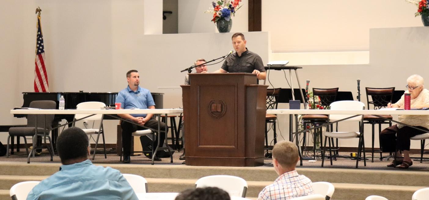 Brian Frye Addresses Ohio Mission Council