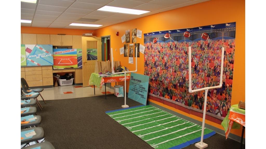 Football Room Display