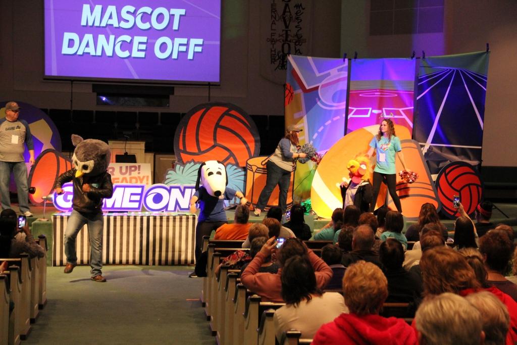 Mascot Dance Off