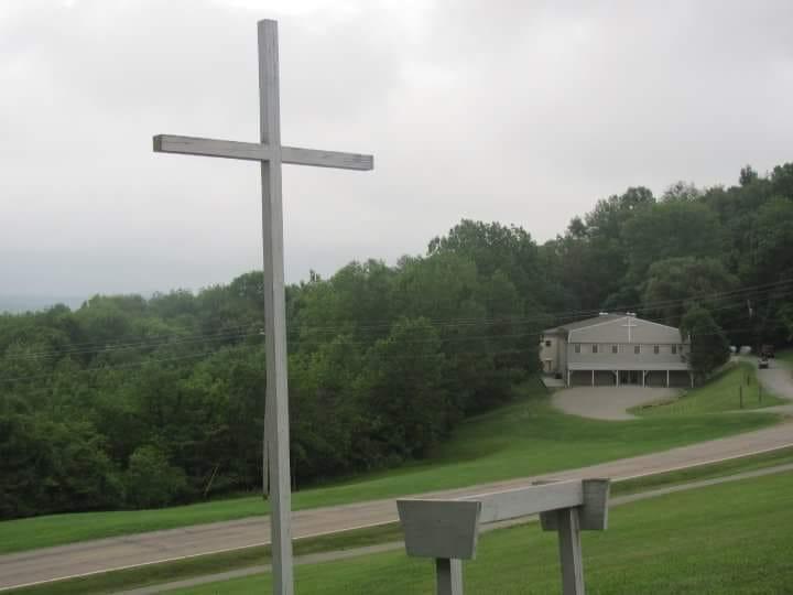 Vesper Hill overlooking the Chapel